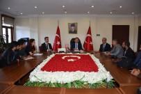ELEKTRİK ÜRETİMİ - Vali Mantı, Basın Mensuplarıyla Bir Araya Geldi