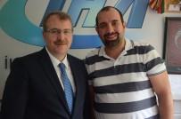 AKİF ÇAĞATAY KILIÇ - AK Parti Bilecik Milletvekili Halil Eldemir'den İHA'ya Ziyaret