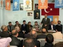 ESKIGEDIZ - AK Parti Kütahya Milletvekili Adayları Eskigediz'de