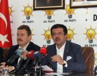BASIN TOPLANTISI - Bakan Zeybekci'den İhracatçılara Döviz Kurunun Sabitlendiği Müjdesi