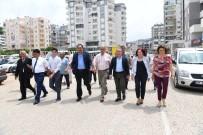 KARAÖZ - Başkan Böcek'ten Kumluca Ziyareti