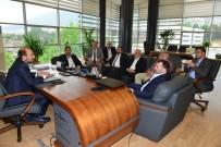SULAR VADİSİ - Başkan Edebali İş İnsanlarına Projelerini Anlattı