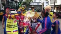 RADAMEL FALCAO - Binlerce Kolombiyalı, Milli Takımlarını Rusya'ya Uğurladı