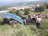 Çaycuma'da Traktör Kazası Açıklaması 1 Ölü, 2 Yaralı