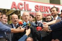 POLİS EKİPLERİ - CHP Lideri Kılıçdaroğlu Kavgada Yaralanan Saadet Parti'liyi Ziyaret Etti