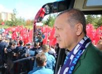 BİNALİ YILDIRIM - Cumhurbaşkanı Erdoğan Ve Başbakan Yıldırım Erzurum'da