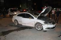 POLİS EKİPLERİ - Elazığ'da Trafik Kazası Açıklaması 4 Yaralı