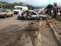 YUSUF YıLDıZ - Karabük'te korkunç kaza