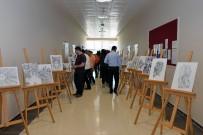 PERSPEKTIF - KMÜ'de Sınıf Öğretmenliği Öğrencileri Resim Sergisi Düzenledi