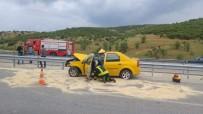 GÖKÇEÖREN - Kula'da Trafik Kazası Açıklaması 1 Ölü