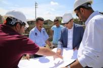 Lice'de Kapalı Pazar Yerinin Temel Atma Töreni Gerçekleştirildi