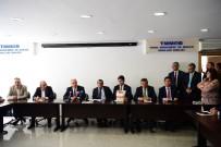 TÜRK MÜHENDİS - Muharrem İnce, Sivil Toplum Örgütleri, Sendikalar Ve Meslek Odalarını Ziyaret Etti