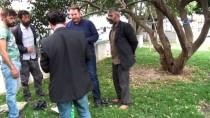 TAKSIM MEYDANı - (Özel) Gezi Parkında Çocuklarını Dilendirerek İçki İçen Suriyeliler Gözaltına Alındı