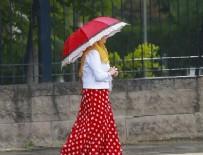 MERSIN - Dikkat! Sağanak yağış geliyor