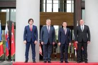 BAĞIMSIZLIK GÜNÜ - Tiflis'te Gürcistan Cumhuriyetinin 100. Yıldönümü Törenine Bakan Canikli De Katıldı