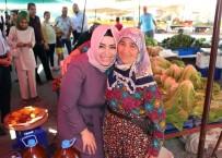 FATİN RÜŞTÜ ZORLU - AK Parti Milletvekili Adayı Çelik, Alanya'da Esnafı Ziyaret Etti