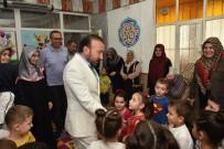 ŞIRINEVLER - Başkan Doğan'dan Kuran Kursu Ziyareti