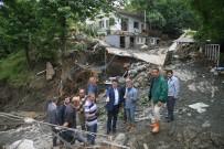 FELAKET - Başkan Dündar, Sel Mağdurlarının Yanında
