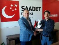 YUSUF ASLAN - Başkan Gülbey, Saadet Partisi Başkanı Aslan'ı Ziyaret Etti
