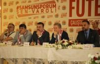 SPOR SPİKERİ - Başkan Taşçı Açıklaması 'Herşey Samsunspor İçin'