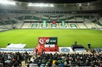SAYGI DURUŞU - Bursaspor'da Olağan Genel Kurulun İlk Oturumu Yapıldı