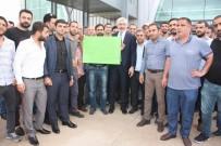 GALIP ENSARIOĞLU - Galip Ensarioğlu'na Coşkulu Karşılama