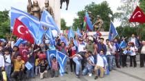 KERKÜK - İstanbul'da 'Kerkük'teki Seçim Sonuçları' Protestosu
