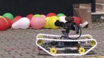 Lise Öğrencisinden Lazer Güdümlü İnsansız Tank Prototipi