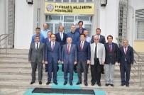 ANADOLU LİSESİ - Müsteşar Yardımcısı Büyük Tekirdağ'da İncelemelerde Bulundu