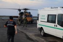 DAĞCI GRUBU - Ölen Dağcı Helikopterle Alındı