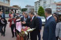 DERE YATAĞI - Orman Ve Su İşleri Bakanı Veysel Eroğlu Sinop'ta