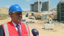 BİNALİ YILDIRIM - Örnek Kentsel Dönüşüm Projesinde Binalar Yükseliyor