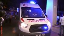 DİREKSİYON - Şanlıurfa'da Sepetli Motosiklet Şarampole Devrildi Açıklaması 8 Yaralı