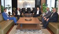 KAPSAM DIŞI - SGK İl Müdürü Ve Vergi Dairesi Başkanı KTO'yu Ziyaret Etti