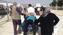 ÖNCÜPINAR - Suriyeliler Koşarak Ülkelerine Gittiler