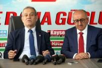TÜRKIYE GAZETECILER FEDERASYONU - Türkiye Gazeteciler Federasyonu Başkanı Yılmaz Karaca'dan KGC'ye Ziyaret