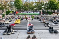 14 MAYıS - 4 Bin 500 Çift Ayakkabıyla İsrail'i Boykot