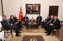 ENVER YıLMAZ - AK Parti Adaylarından Protokol Ziyaretleri