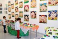OKUL ÖNCESİ EĞİTİM - Bin 250 Çocuğun Sergi Mutluluğu