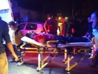 Bursa'da Trafik Kazası Açıklaması 2'Si Çocuk 6 Yaralı