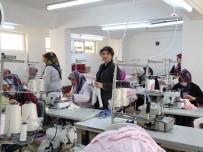 TEKSTİL ATÖLYESİ - Hisarcıklı Kadın Girişimciden Yeni Tekstil Atölyesi
