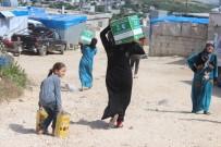 LAZKİYE - İHH'nın Lazkiye Kırsalına Yardımları Devam Ediyor