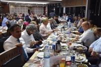 TÜRKIYE GAZETECILER FEDERASYONU - Kayserili Gazeteciler İftarda Buluştu