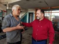 TRAFİK CEZALARI - Murat Demir Sanayi Esnafını Ziyaret Etti