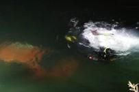SÜTÇÜ İMAM ÜNIVERSITESI - Otomobil Nehre Düştü Baba Öldü Oğlu Yaralı Kurtuldu