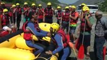 Sansa Deresi'nde Heyecan Dolu Rafting Etkinliği