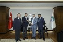 BAĞLıKAYA - TÜRSAB Başkanı Bağlıkaya, Başkan Çelik'i Ziyaret Etti
