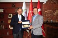 BAĞLıKAYA - TÜRSAB Başkanı Bağlıkaya, Belediye Başkanı Seçen'i Ziyaret Etti