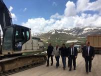 Vali Ali Hamza Pehlivan Bayburt Aydıntepe Trabzon Arasında Devam Eden Yol Çalışmalarını İnceledi
