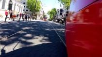 DEMİRYOLLARI - Abdülhamid'e Saygı İçin Tramvay Hattının Rayları Yenilendi